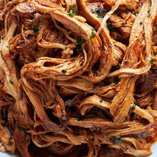 Slow Cooker Honey-Garlic BBQ Pork Tenderloin.