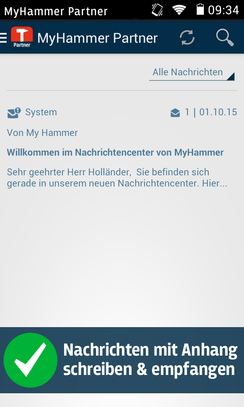 MyHammer Partner 🔨- screenshot