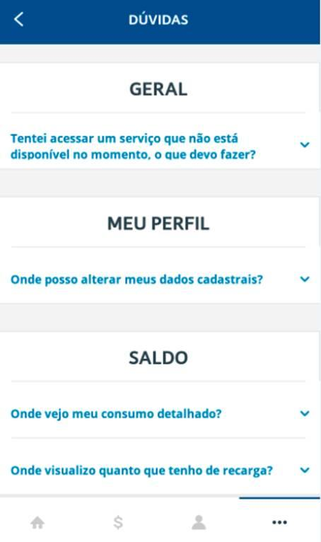 MEU TIM: captura de tela