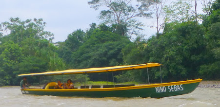 Photo: Another boat on the river