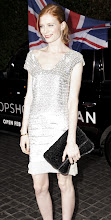Photo: Jessica Joffee arrives at the Topshop opening party.  Shop LA Style > http://bit.ly/XbGtM6