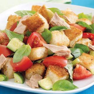 Tuna Panzanella Salad.