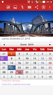 Argentina Calendario 2019 2