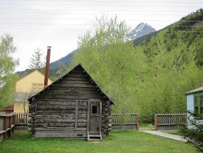 Photo: Moore's homestead cabin