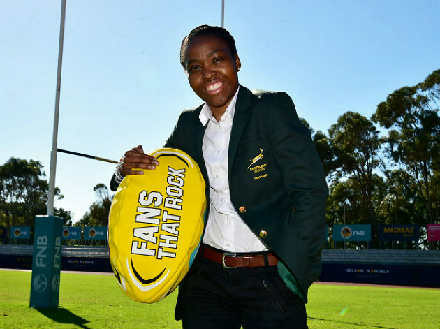 Nelson Mandela University sport manager Melissa Awu is making a name for herself in rugby circles