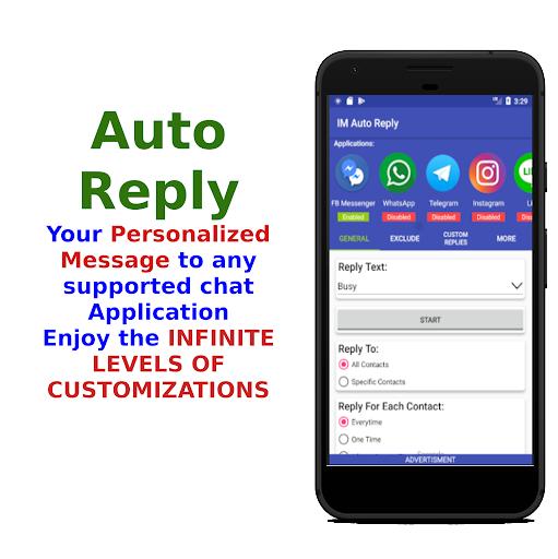 IM Auto Reply 7.5 screenshots 1