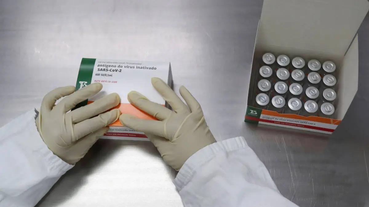 Informações preliminares dão conta de que o imunizante do Butantan também é eficaz contra a cepa P.1. (Fonte: Estadão)