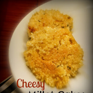 Simple Cheesy Millet Cakes