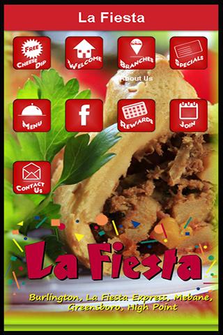 android La Fiesta Restaurante Mexicano Screenshot 0