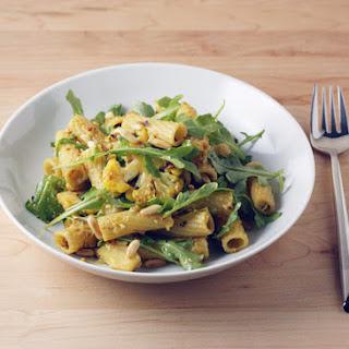Cauliflower Pasta with Pecorino, Grated Egg and Pine Nuts