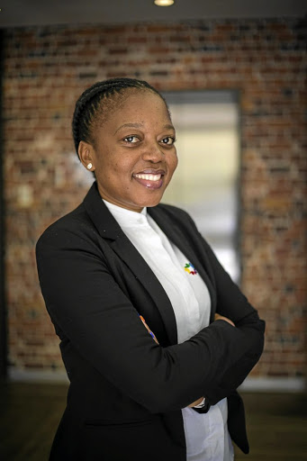 Refilwe Sebothoma is proud of her achievements as an entrepreneur in a sector she regards as challenging for women. /Supplied