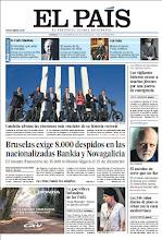 Photo: En la portada de EL PAÍS del domingo 25 de noviembre: Cataluña afronta las elecciones más cruciales de su historia reciente; Bruselas exige 8.000 despidos en Bankia y Novagalicia; Tanja Nijmeijer, la guerrillera holandesa de las FARC; y en el suplemento Domingo, la historia del criminal más famoso de Suecia, que confesó 32 homicidios en su momento y ahora cuenta que se inventó todo: http://ep00.epimg.net/descargables/2012/11/25/994b1ef9a292918faa2b4d45e7e48067.pdf
