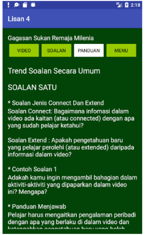 Lisan 4- screenshot