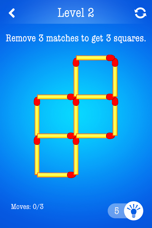Matchsticks ~ Free Puzzle Game- screenshot