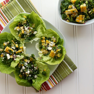 Summer Corn and Herb Salad with Feta Recipe