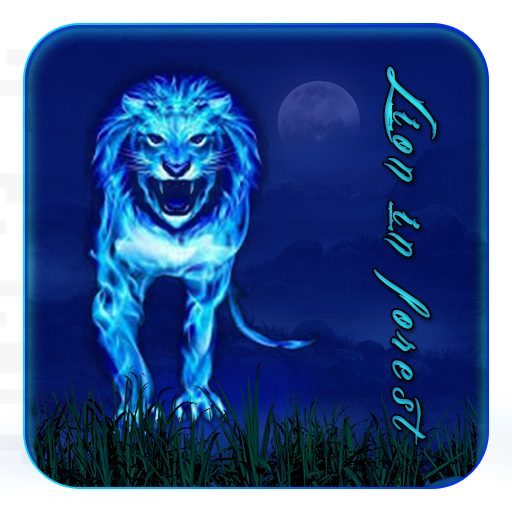 Lion in Forest Theme