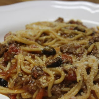 Instant Pot Spaghetti with Meat Sauce.