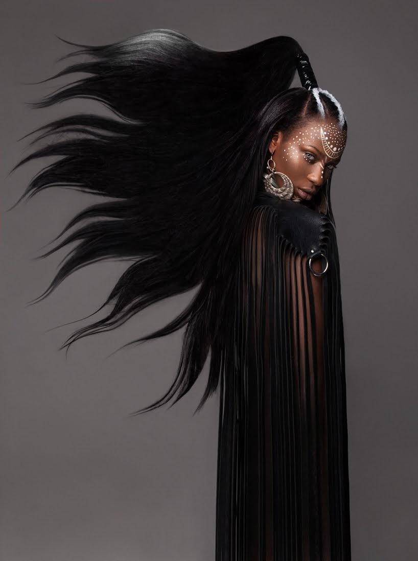 La belleza afro despertada en retratos de cabello del fotógrafo Luke Nugent