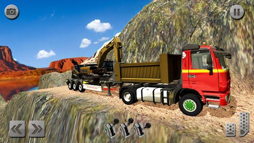 Sand Excavator Truck Driving Rescue Simulator game 5.0 screenshots 5