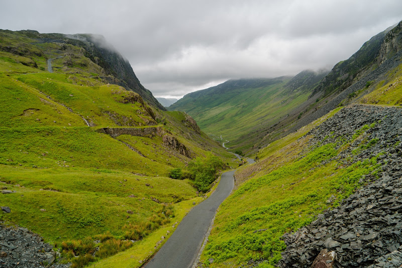 From Honister Slate Mine
