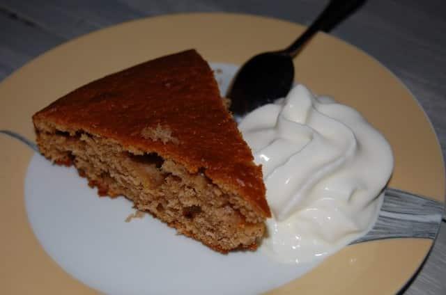 Moist Yogurt Cake Recipe