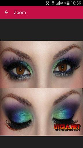 玩免費遊戲APP|下載Eye makeup tutorials app不用錢|硬是要APP