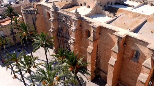 La Plaza de la Catedral de Almería, en una imagen del avance del programa.