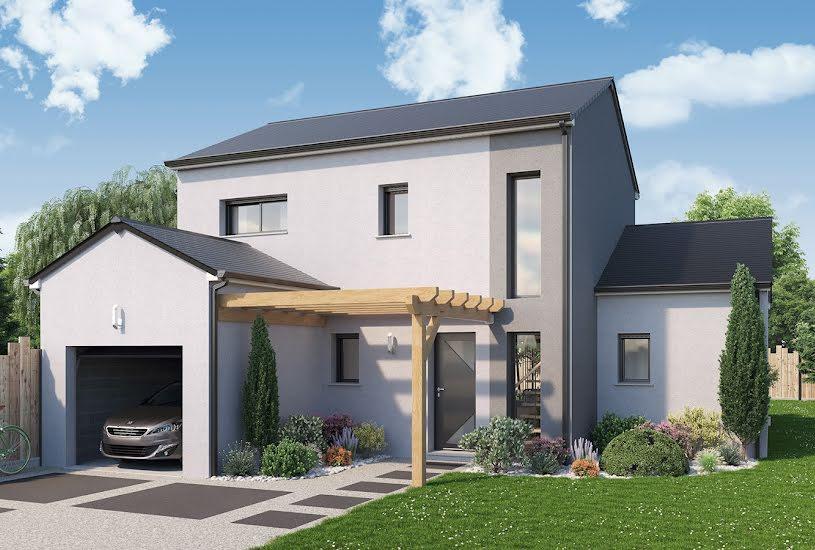 Vente Terrain + Maison - Terrain : 565m² - Maison : 100m² à Nivillac (56130)