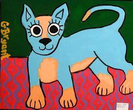 Photo: Petey the Blue Hound 10 x 12