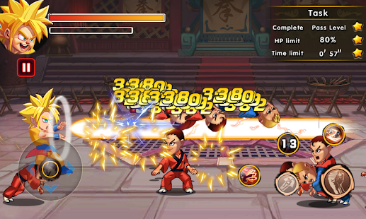 Super Dragon Fighter Combat - náhled