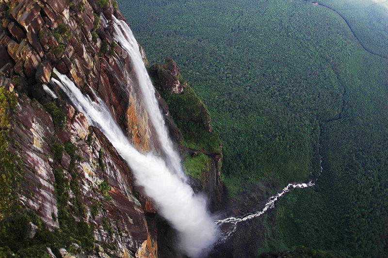 File:Angel Falls in Venezuela.jpg