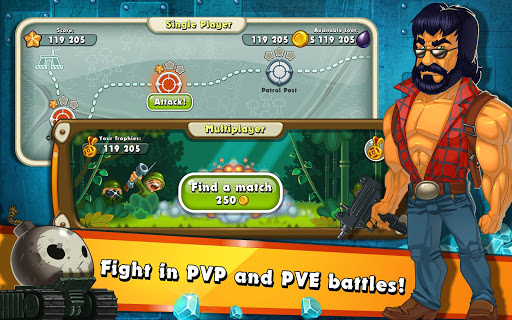Jungle Heat: War of Clans screenshot 9