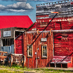 Abandoned  by Dennis Mai - Buildings & Architecture Other Exteriors ( cowboy, ghost town, abandoned )