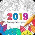 Coloring Book 2019 icon