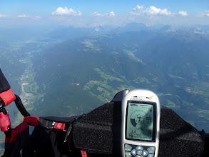 Photo: ( Grente )  Perfekter Anflug auf die Lüsen (mit Rückenwind und ausreichend Höhe)!