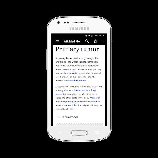 WikiMed mini - Offline Medical Wikipedia 2019-12 screenshots 1