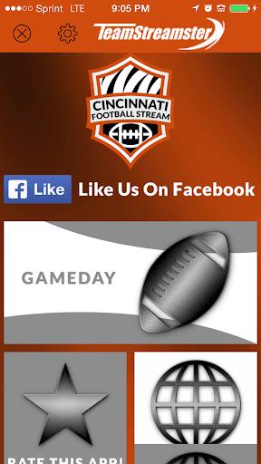 Cincinnati Football STREAM+