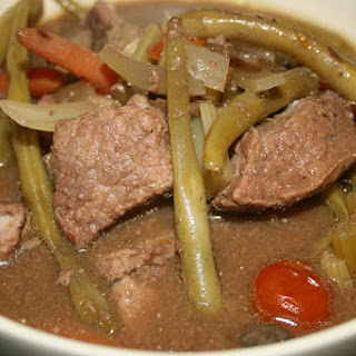 Traditional Beef Stew CrockPot.