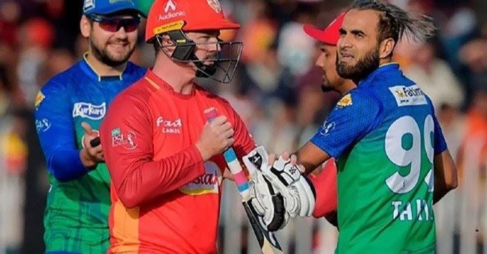 Colin Munro and Imran Tahir in a spat in PSL 2021
