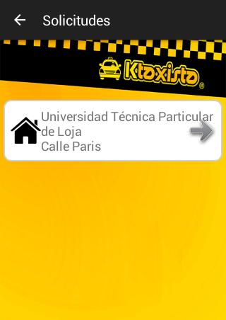 KTaxi Driver App Taxista