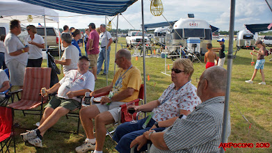 Photo: Ontarians enjoy happy hour under the tent