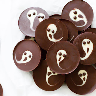 2-Ingredient Ghost Chocolate Cups.