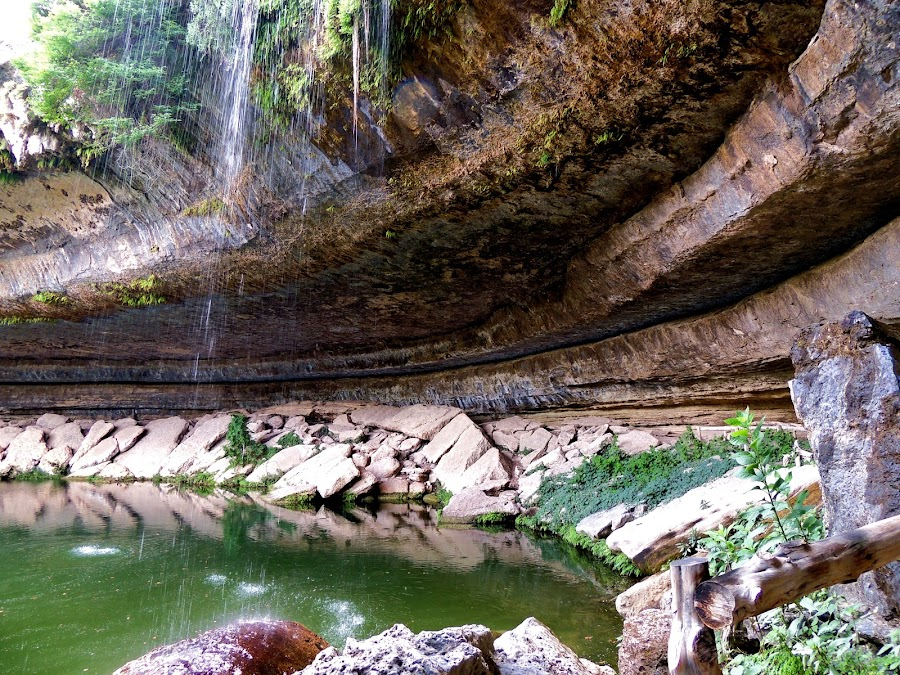 Hamilton Pool by Cathy Hood - Landscapes Waterscapes