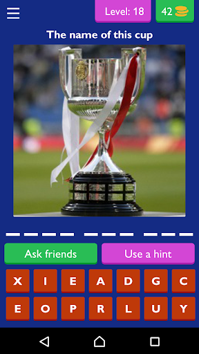 Quiz Questiones Game FootBall