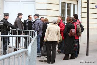 Photo: Départ de la délégation vers 16h10