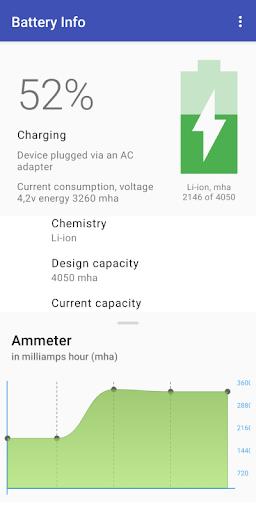 Ampere Battery Info screenshot 2