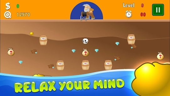 Gold Miner Classic: Gold Rush – Mine Mining Games 4