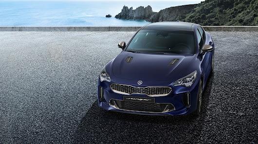 Kia y Automóviles Robe desvelan el nuevo diseño del Stinger