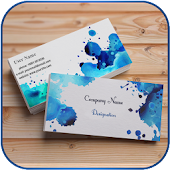 Visiting Card Maker with photo