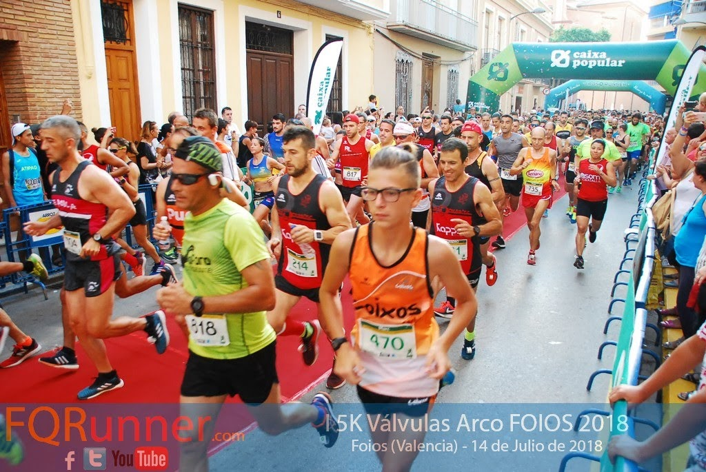 Fotos 5K Válvulas Arco Foios 2018